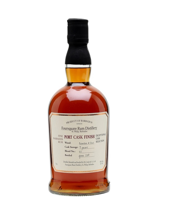 Foursquare Port Cask Finish 9 Years rum 0,7l