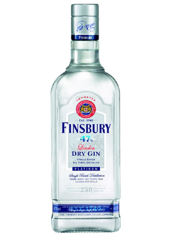 Finsbury Platinum London Dry gin 1l