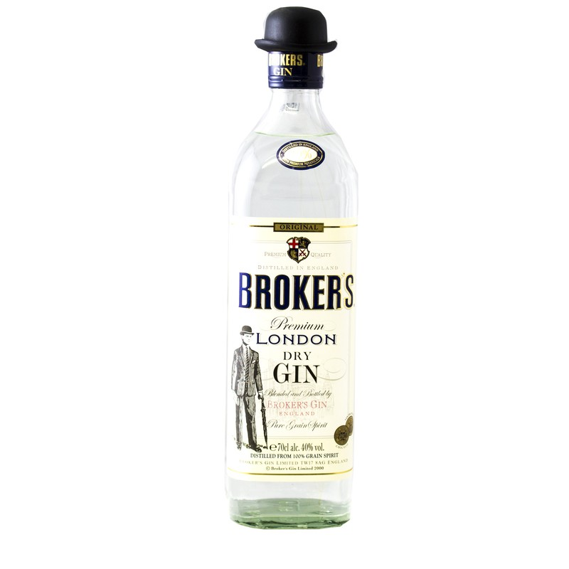 Broker's Premium London Dry Gin 0,7l
