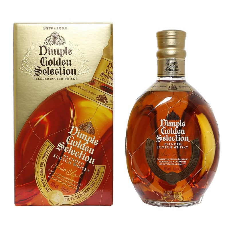 Dimple Gold Collection blended whisky 0,7