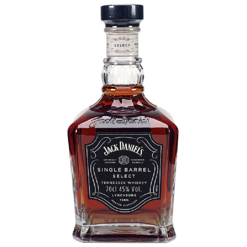 akce Jack Daniel's Single barrel Tennessee whiskey 0,7