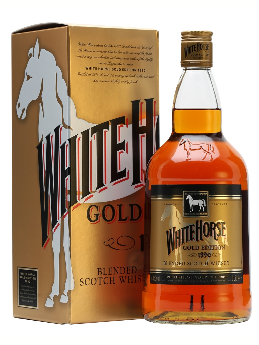 -Whisky White Horse Gold Edition 1l