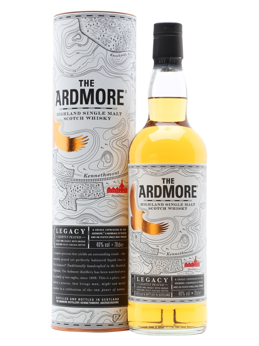 Ardmore Legacy Highland Single Malt Whisky 0,7l