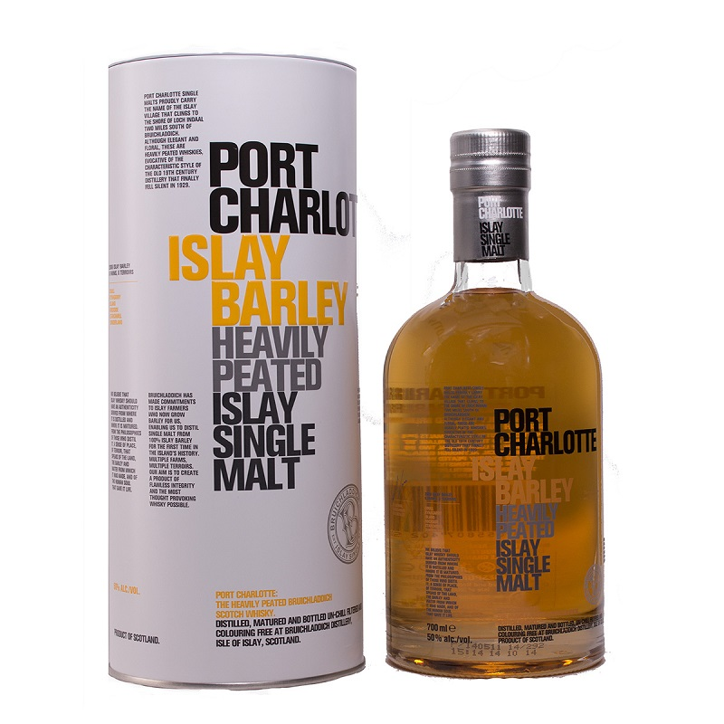 Port Charlotte Barley single malt Islay whisky 0,7