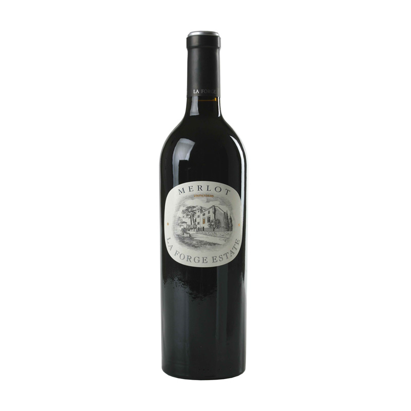 - Merlot LA FORGE ESTATE 0,75