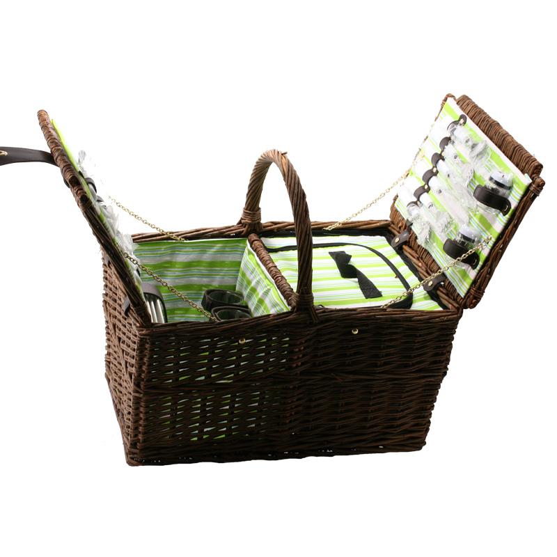e7788ad3a7 Piknik koš pro 4 osoby hranatý - dárky a doplňky empty
