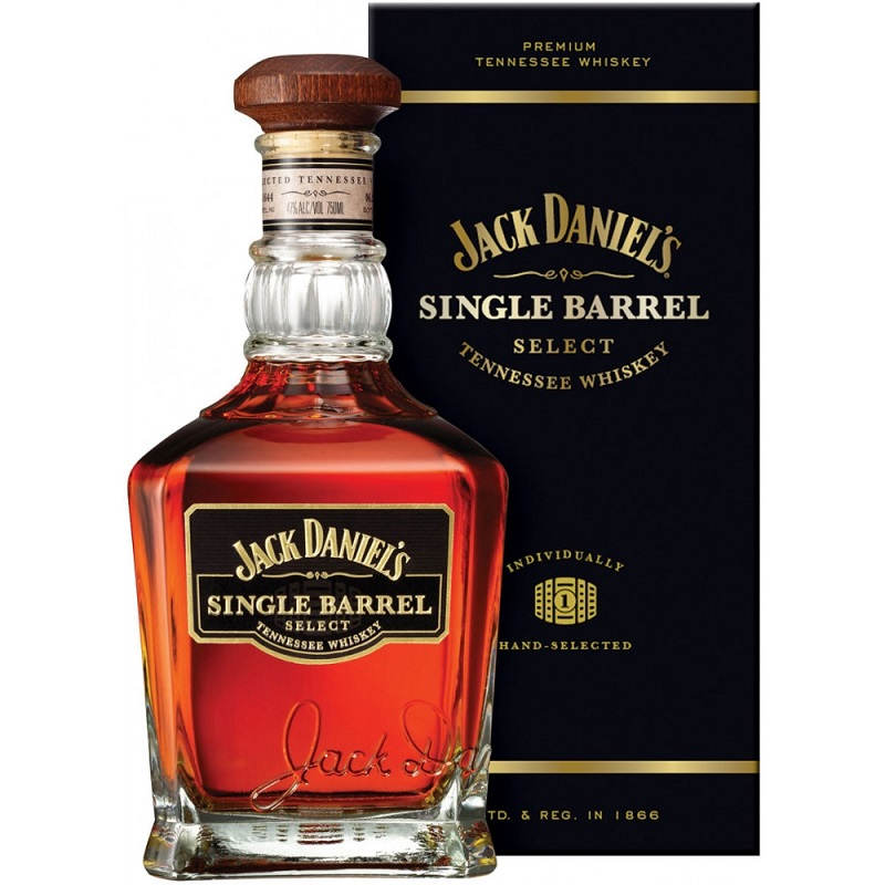 Jack Daniel's Single Barrel Select Tennessee 45% whiskey 0,7