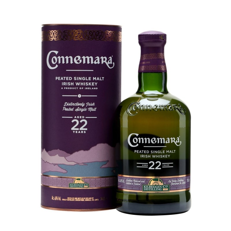 Connemara 22 Year Old Peated Single Malt Whiskey 0,7