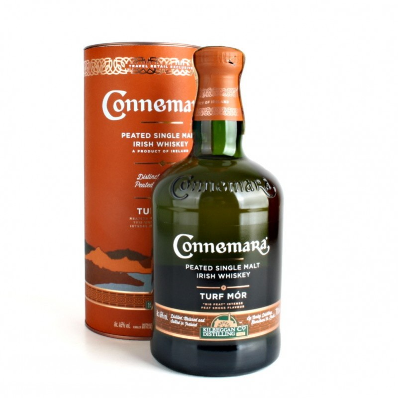 Connemara Turf Mór whiskey 0,7l