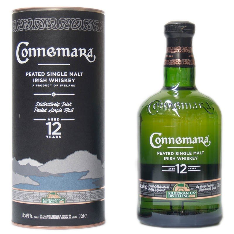 Connemara 12 yo Single Malt whiskey 0,7