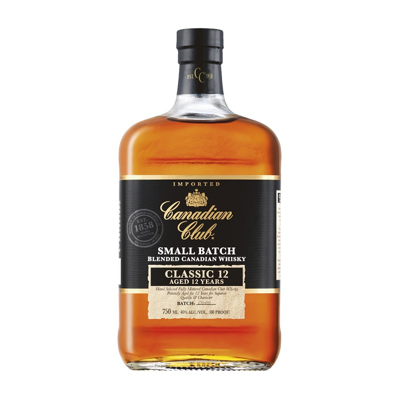 Canadian Club Classic 12 yo Small Batch 1l