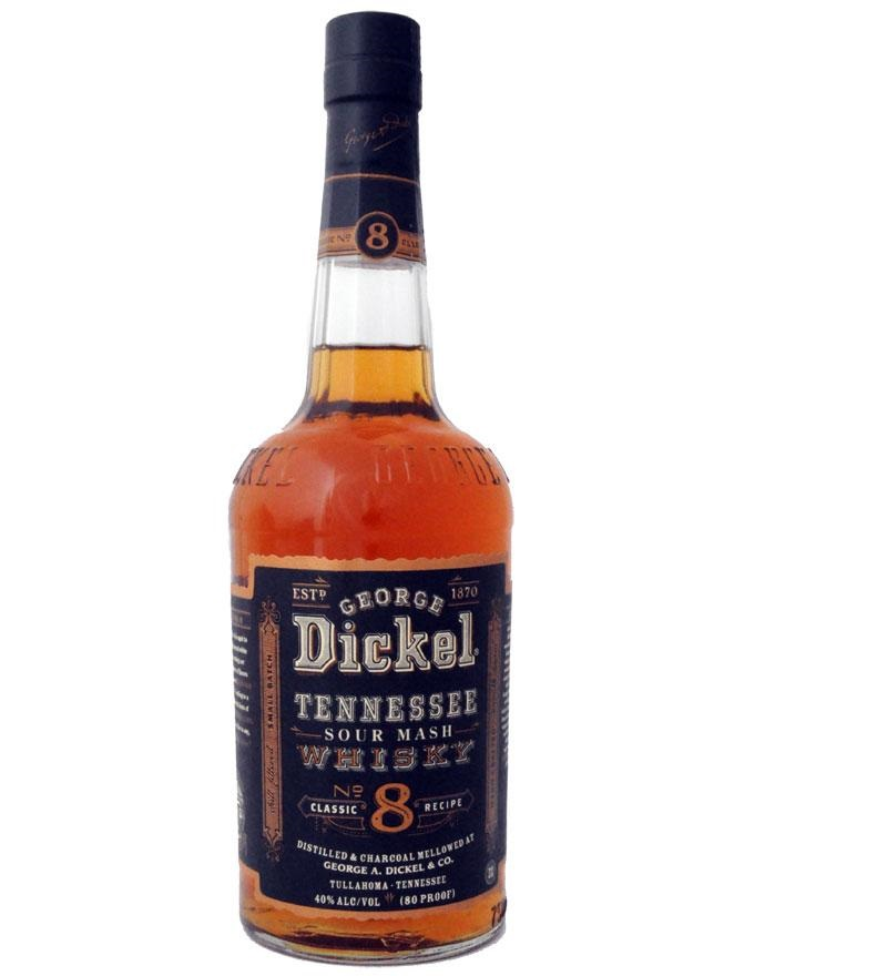 George Dickel No. 8 Original Tennessee Whiskey 1l