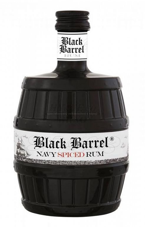 A. H. Riise Navy spiced black barrel rum 0,7l