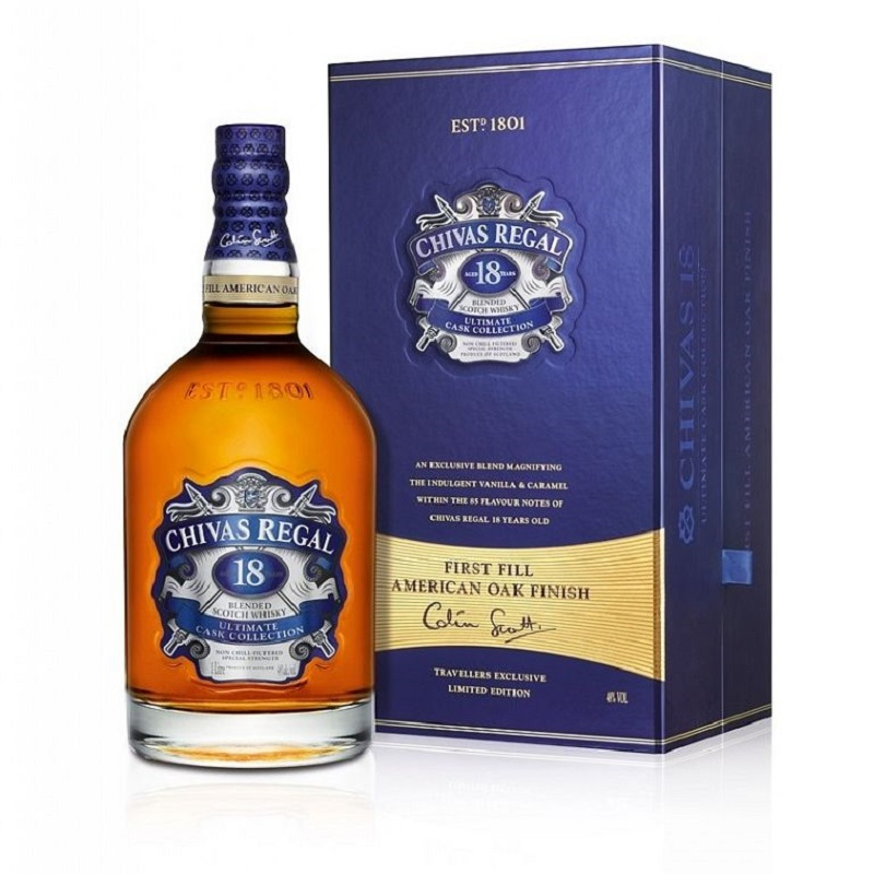 Chivas Regal 18 yo Ultimate Cask whisky 1l