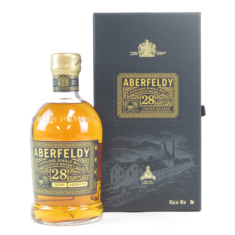Aberfeldy 28 Year Old Scotch Whisky 0,7l