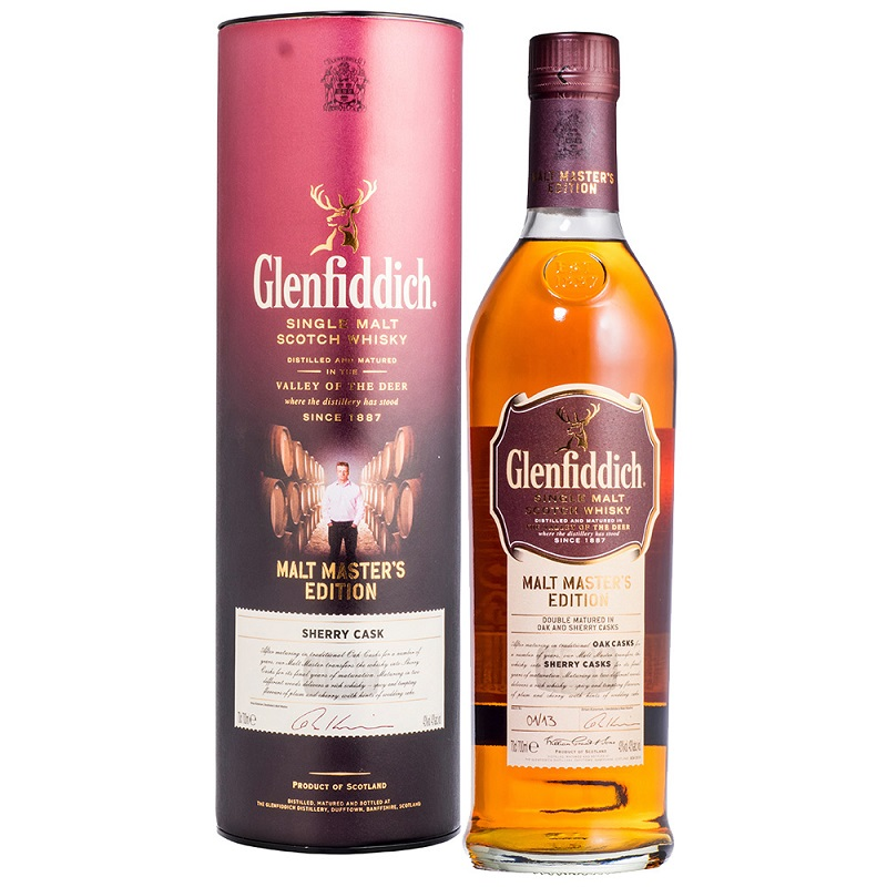 Glenfiddich Malt Master's Sherry whisky