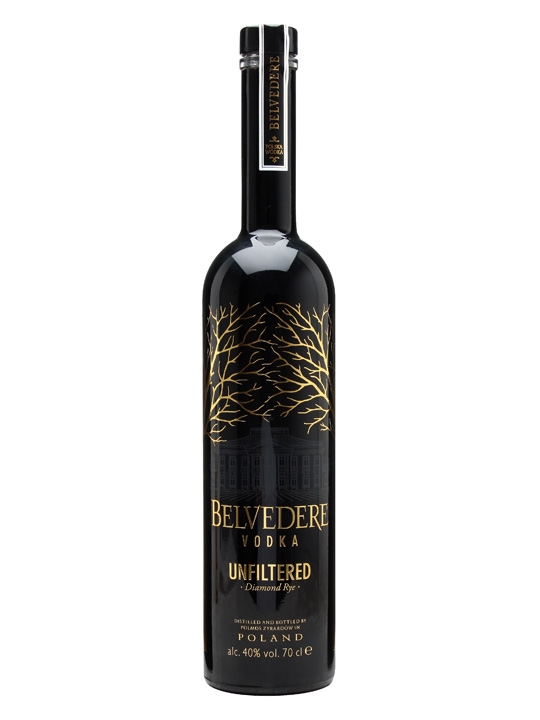 Belvedere Unfiltered Rare Diamond Rye 1,75