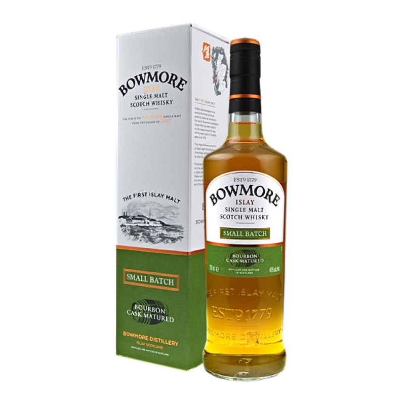 Bowmore Small Batch Islay Single Malt Scotch Whisky 0,7