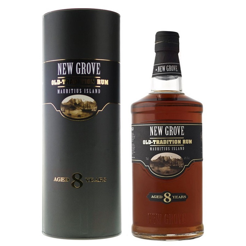 New Grove Old Tradition 8 Years Old Mauritius Island rum 0,7l