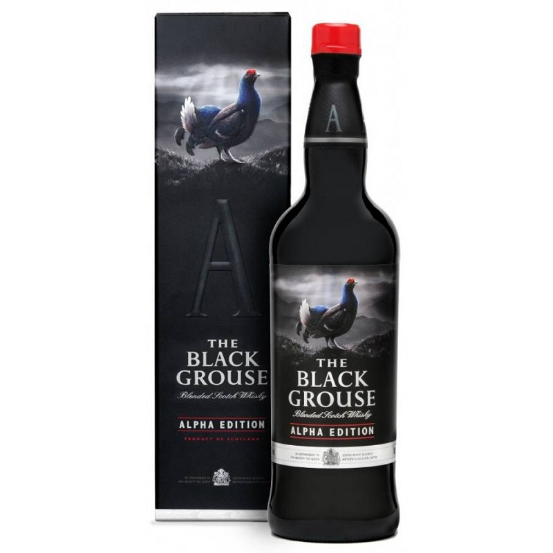 Grouse Black Alpha Edition whisky 0,7l