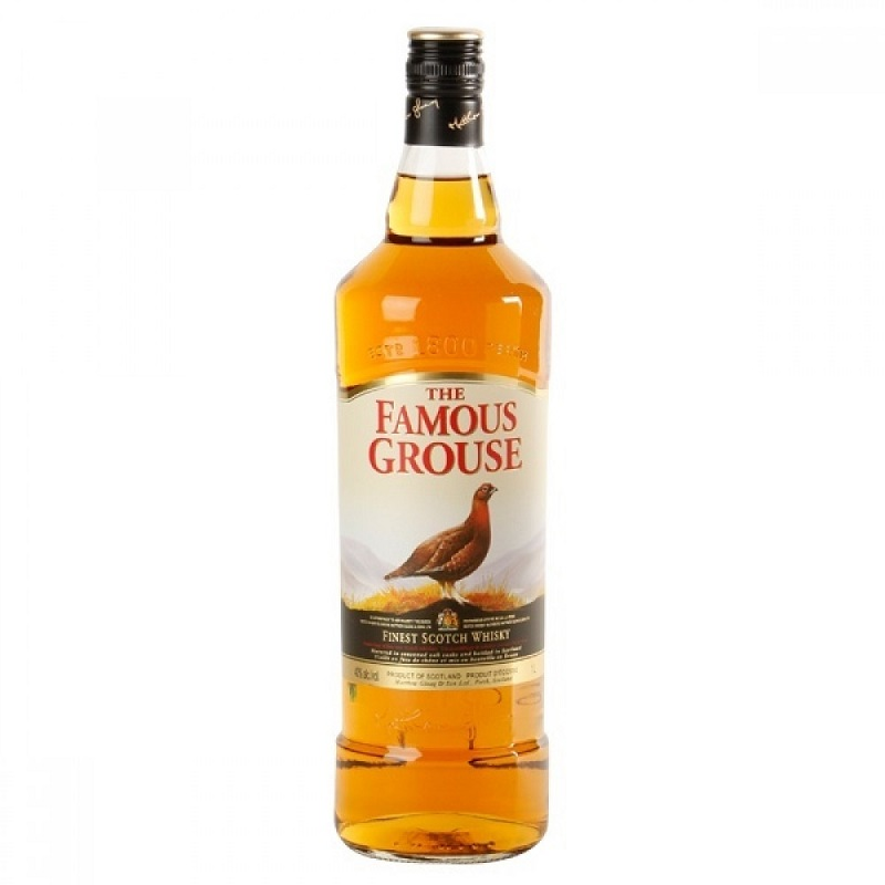 The Famous Grouse Blended Scotch whisky 1l