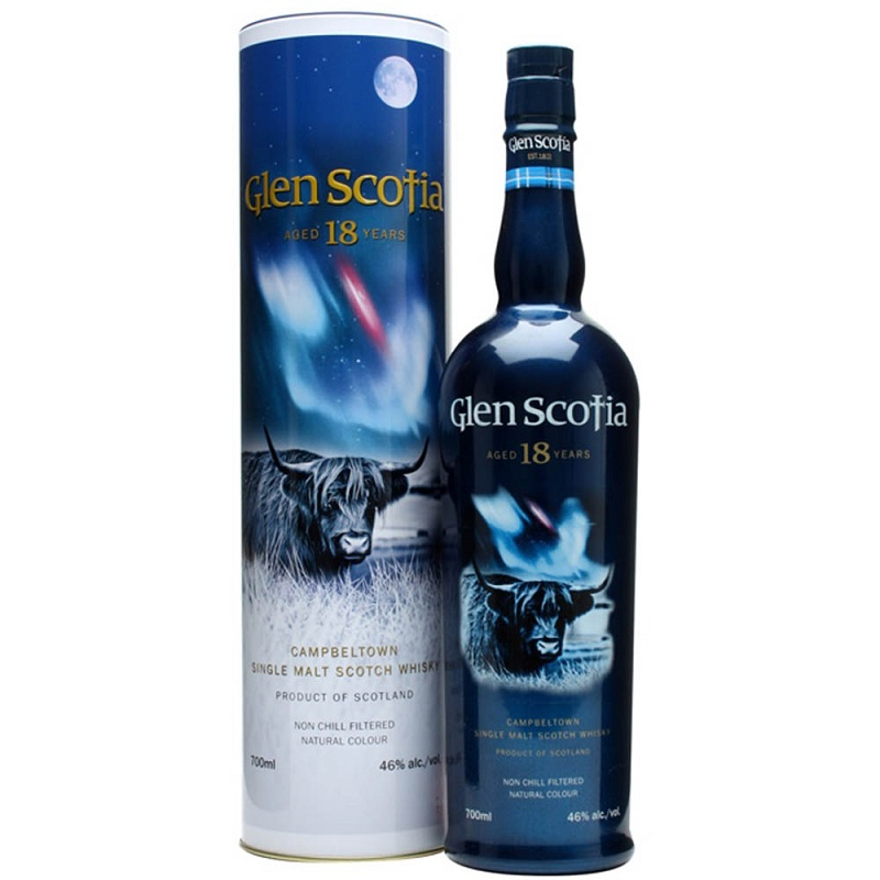Glen Scotia 18 Year Old Scotch Whisky 0,7