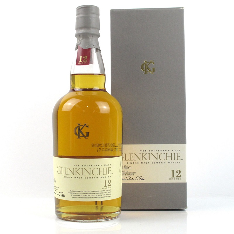 Glenkinchie 12 yo whisky 1L