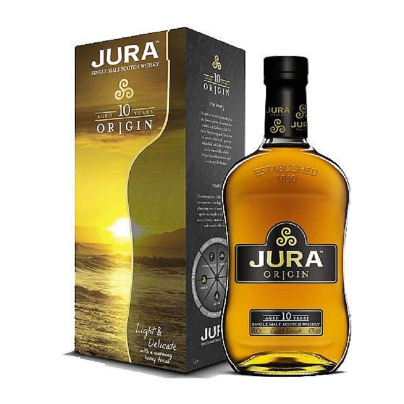 Isle of Jura 10 yo whisky 1l