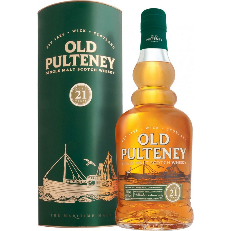 Old Pulteney 21 yo whisky 0,7l