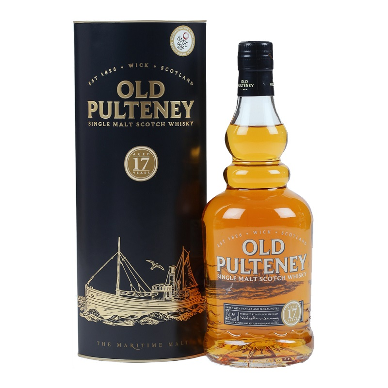 Old Pulteney 17 yo whisky 0,7l