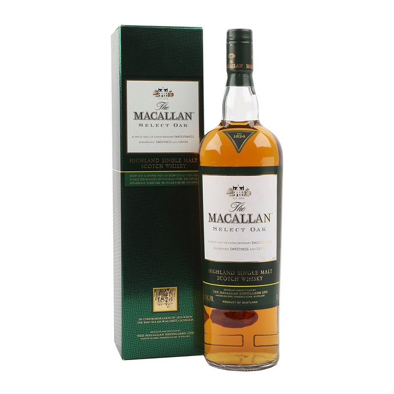 Macallan Select Oak whisky 1l