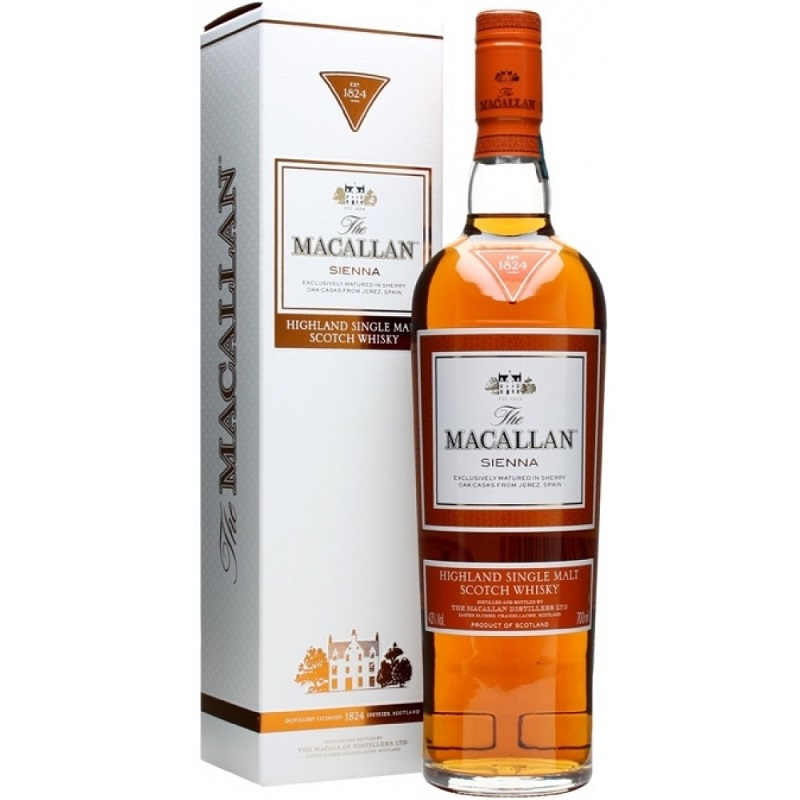 Macallan Sienna The 1824 Series whisky 0,7