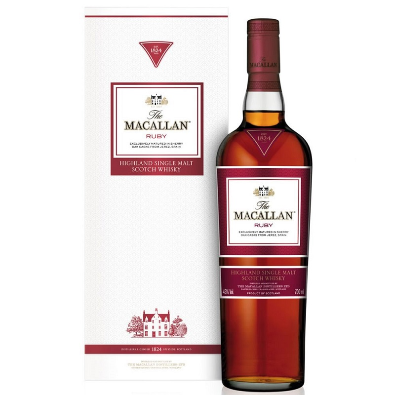 The Macallan Ruby whisky 0,7