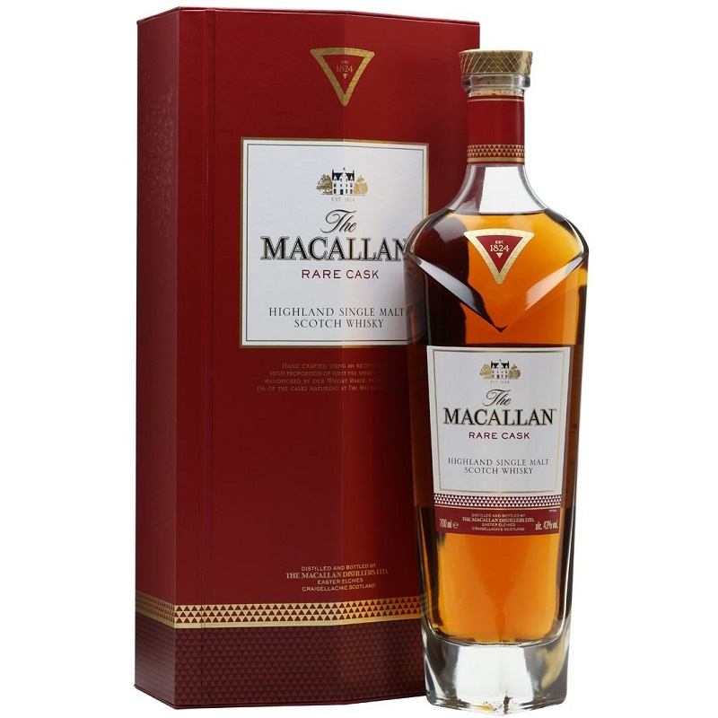 the Macallan Rare Cask Red whisky 0,7l