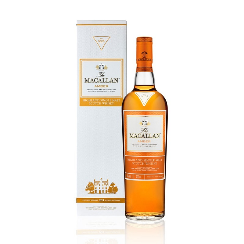 The Macallan 1824 Series Amber Whisky 0,7l