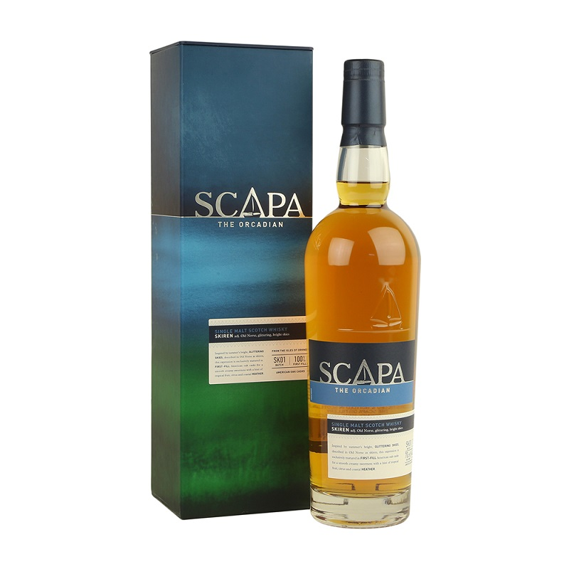 - akce a sleva Praha na Scapa The Orcadian Skiren whisky 0,7l