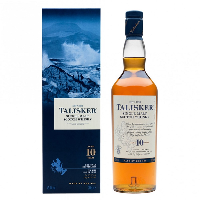 Talisker 10 yo single malt whisky 0,7l