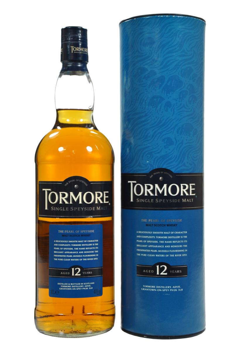 Tormore 12 Years Old whisky 1L