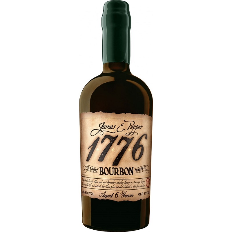1776 James E. Pepper 6yo Straight Rye Whiskey 0,7