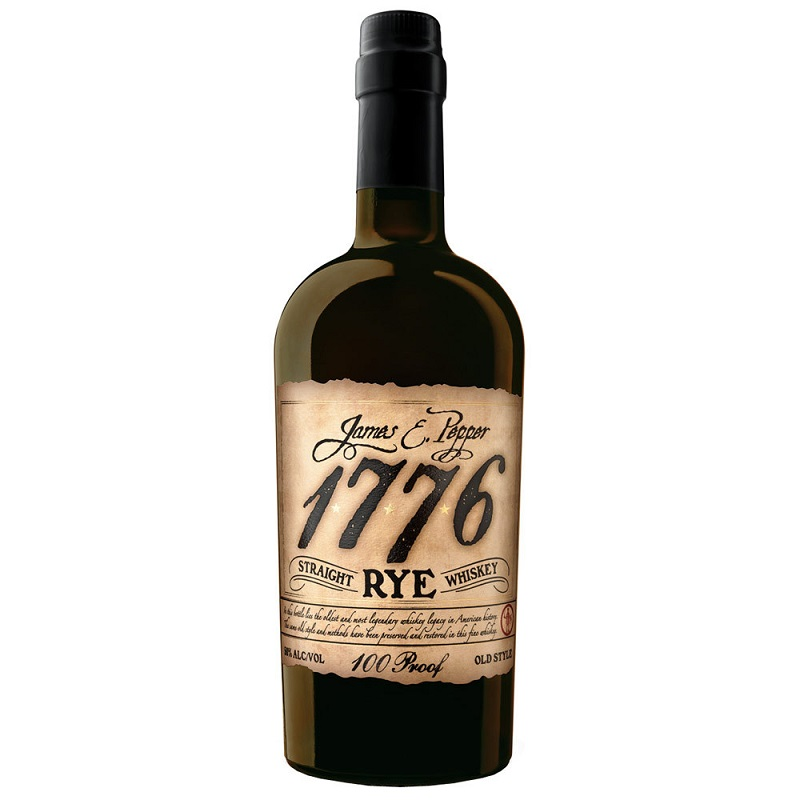 1776 James E. Pepper Straight Rye Whiskey 100 Proof Old Style 0,7l
