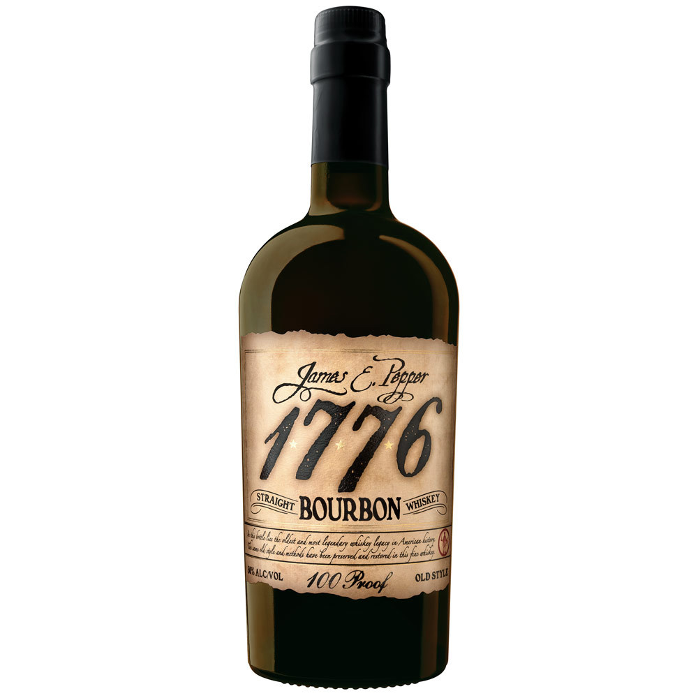 1776 James E. Pepper Straight Bourbon Whiskey 100 Proof Old Style 0,7l
