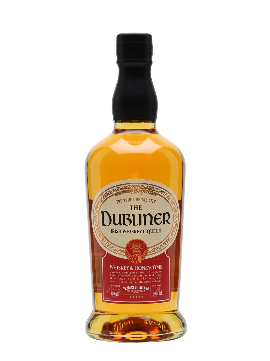 - The Dubliner Irish Whiskey Liqueur 0,7l