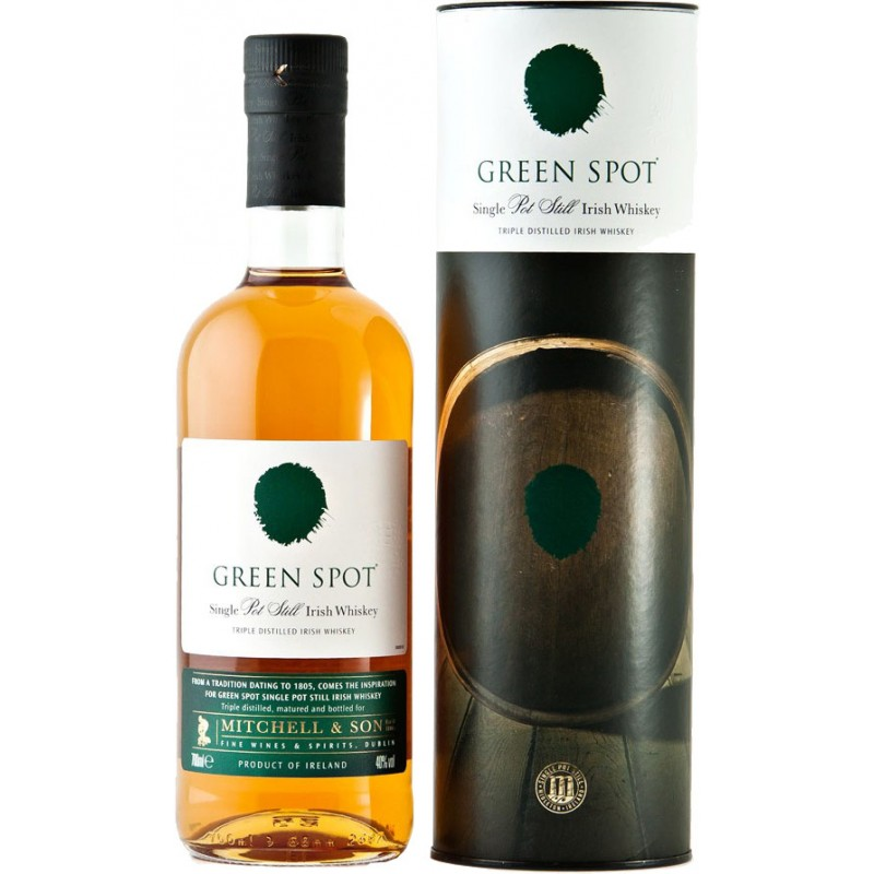Green Spot Single Pot Still Irish whiskey 0,7