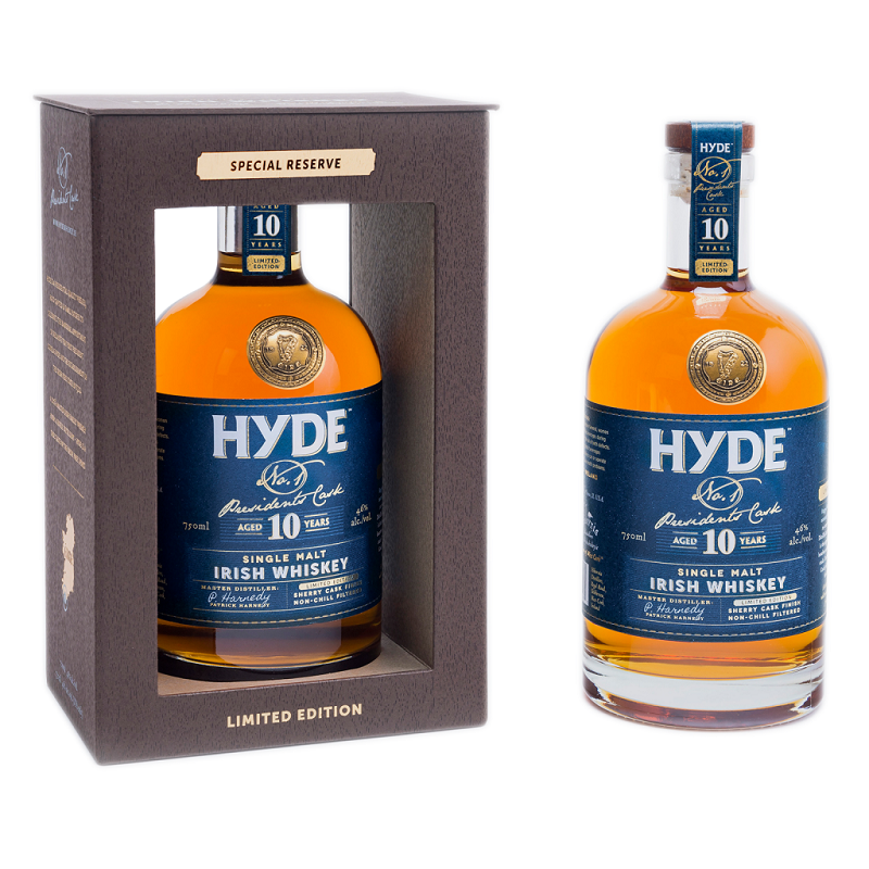 Hyde 10 yo Sherry Cask Finish Irish whiskey 0,7l