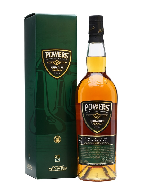 Powers signature Release Single pot still Irish whiskey 0,7l