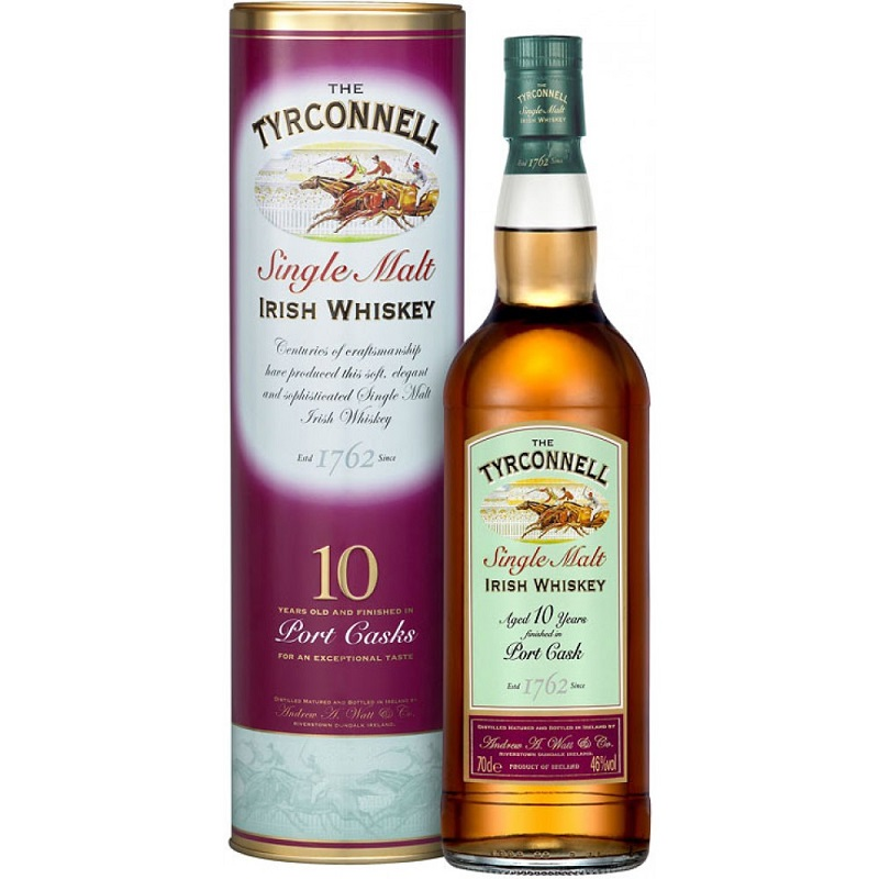 Tyrconnell Irish 10yo Port Cask whiskey 0,7l