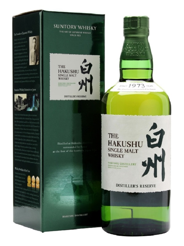 Suntory Hakushu Distiller's Reserve Single Malt whisky 0,7
