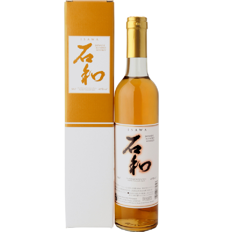 Isawa Japanese blended whisky 0,5