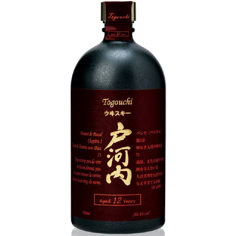 Togouchi 12 yo Blended Japanese whisky 0,7