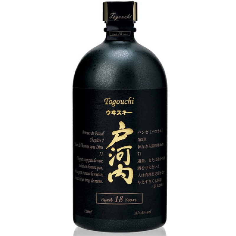 Togouchi 18 yo Blended Japanese whisky 0,7l